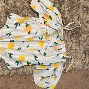 Lemon swim suit